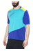 Cube AM Jersey korte mouwen blauw/turquoise